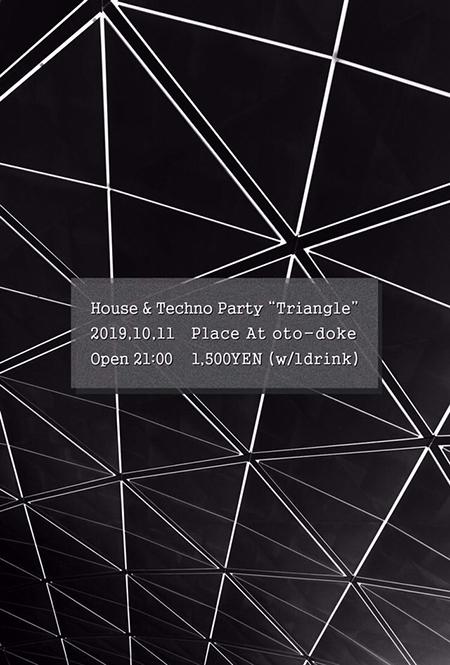 本日★10/11(金)Triangle