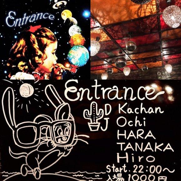 本日★9/9(土)Entrance
