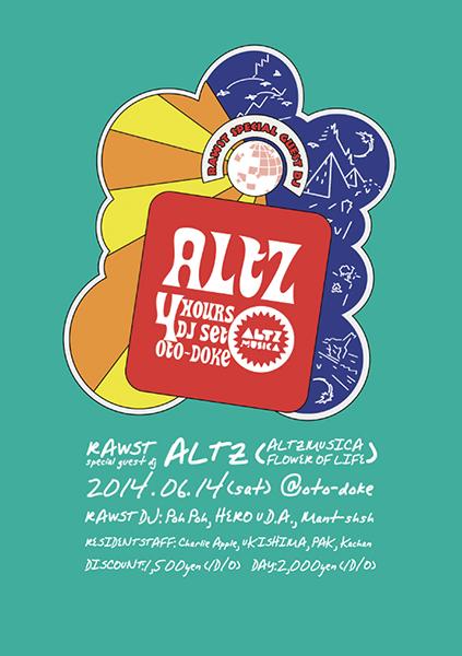 RAWST feat. ALTZ (ALTZMUSICA/FLOWER OF LIFE)