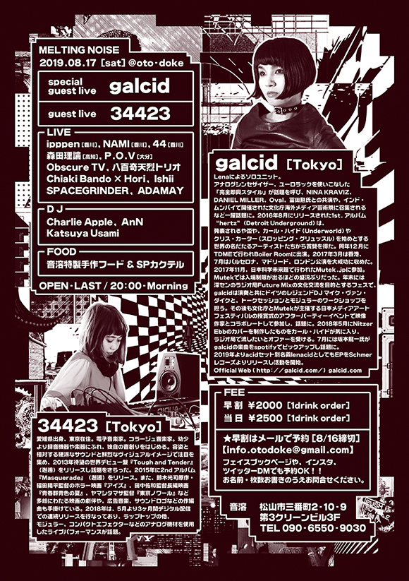 Melting Noise feat. galcid × 34423 [裏面]
