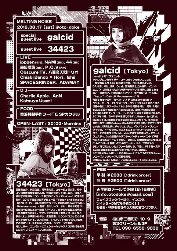 Melting Noise feat. galcid × 34423 [裏面]